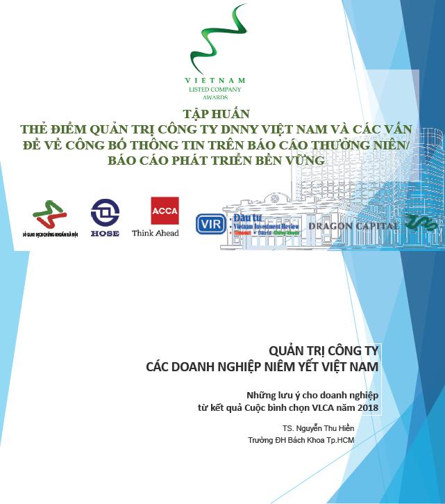 Tập huấn về Thẻ điểm Quản trị công ty DNNY Việt Nam