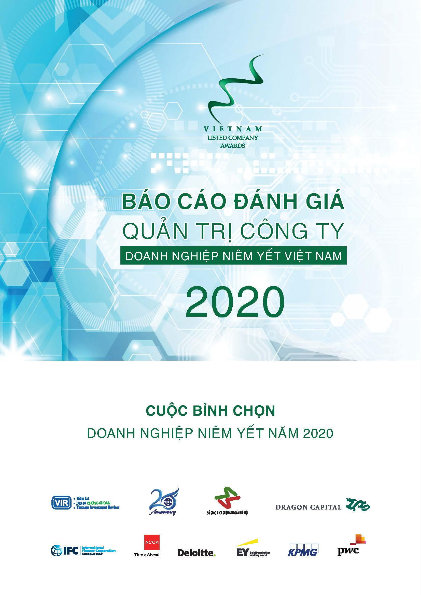 BÁO CÁO ĐÁNH GIÁ QUẢN TRỊ CÔNG TY – DOANH NGHIỆP NIÊM YẾT 2020
